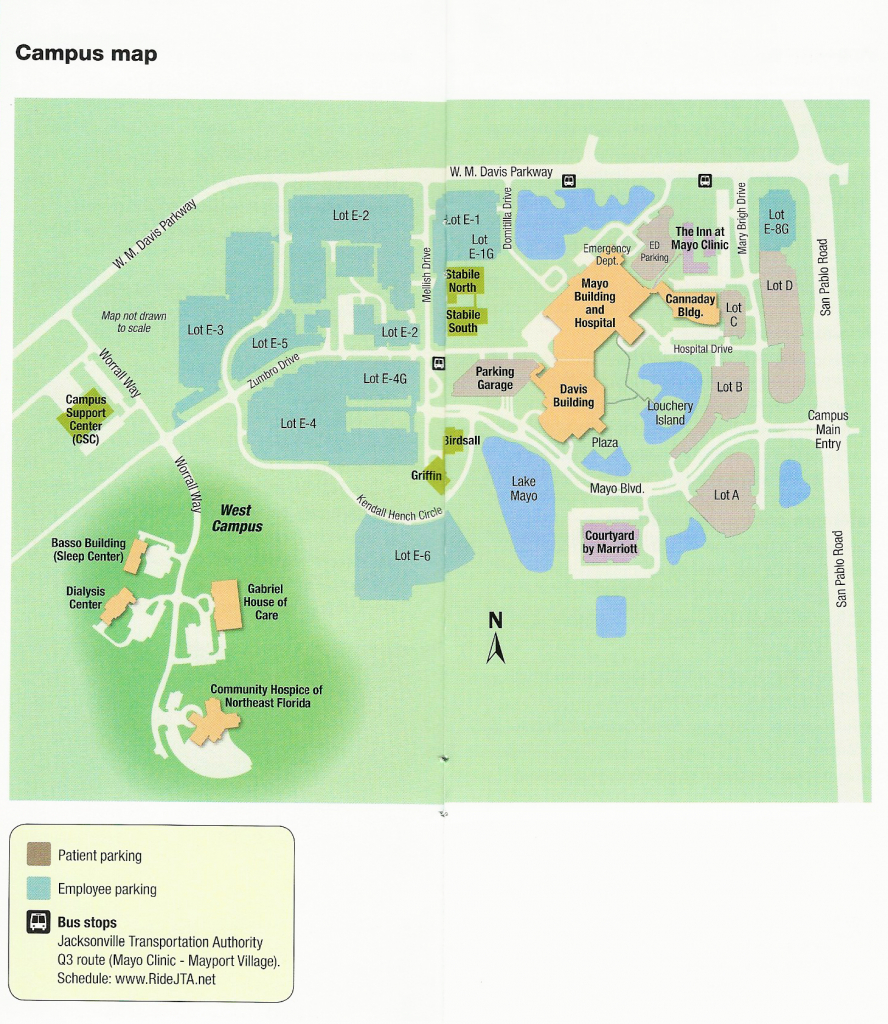 Mayo Clinic Florida Campus Map | Mayo Clinic In Florida | Campus Map - Mayo Clinic Jacksonville Florida Map