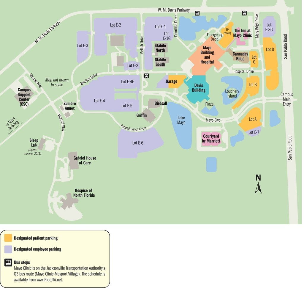 Mayo Clinic Florida Campus - Maplets - Mayo Clinic Florida Map