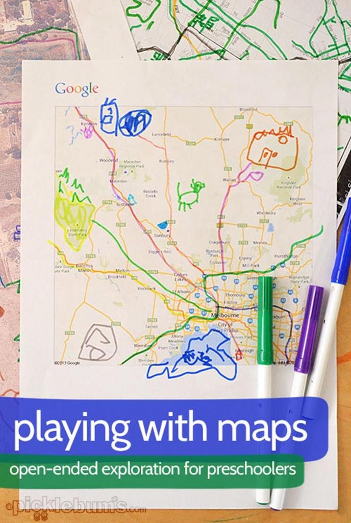 Me On The Map | Zj Preschool Geography | Preschool Social Studies - Me On The Map Printables