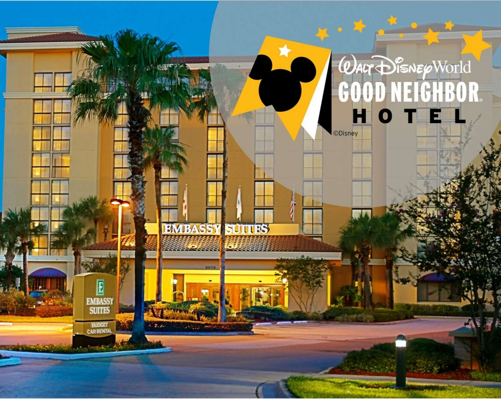 Meetings And Events At Embassy Suiteshilton Orlando - Embassy Suites Florida Locations Map