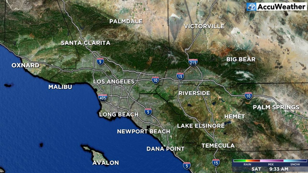 Mega Doppler 7000 Hd | Los Angeles Weather News | Abc7 - Southern California Weather Map