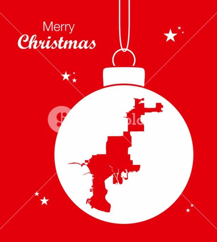 Christmas Florida Map