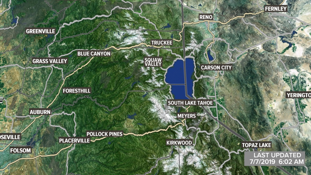Metro Interactive Radar | Sacramento, Ca | Abc10 - Northern California Weather Map