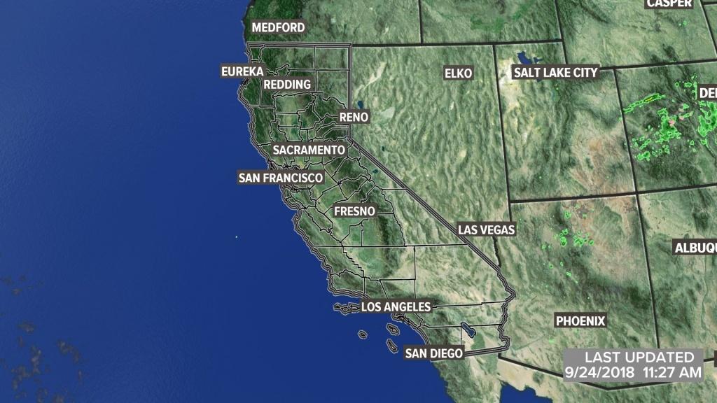 Metro Interactive Radar | Sacramento, Ca | Abc10 With Regard To - Northern California Radar Map
