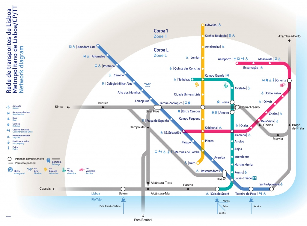 Metro Map Lisbon And Travel Information | Download Free Metro Map Lisbon - Lisbon Metro Map Printable