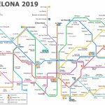 Metro Map Of Barcelona 2019 (The Best) - Barcelona Metro Map Printable