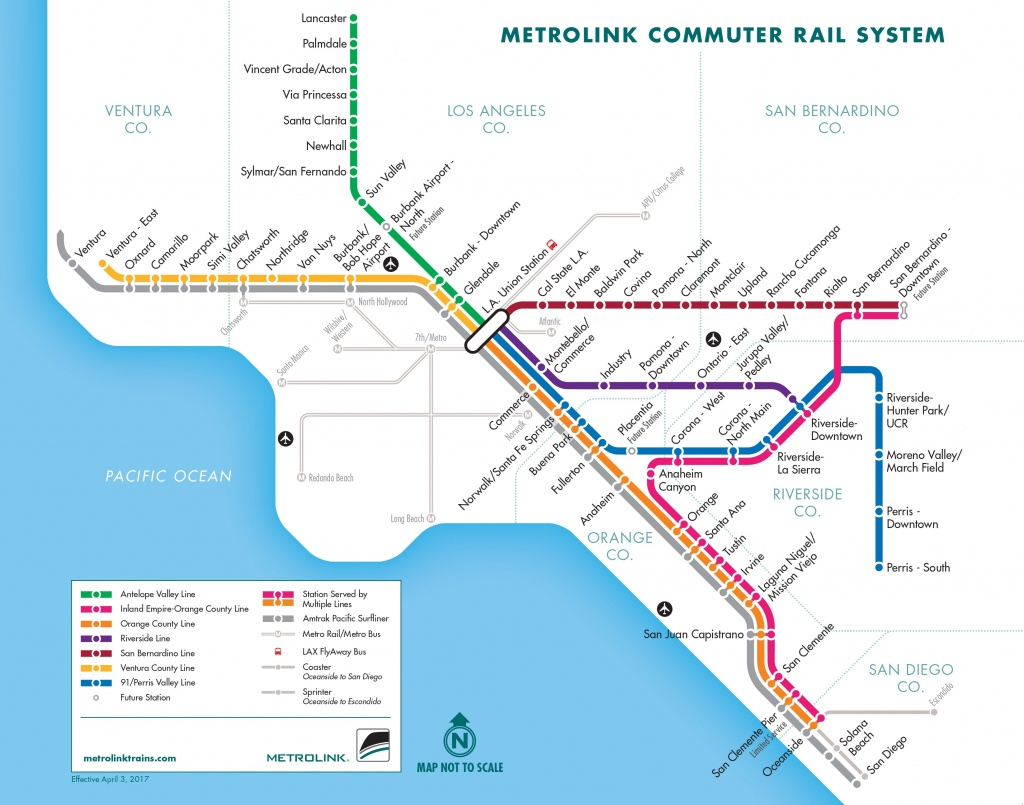Metrolink Weekends   Metrolink - California Rail Pass Map