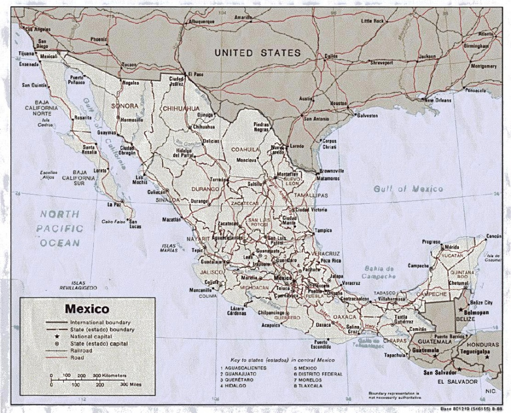 Mexico Maps | Printable Maps Of Mexico For Download - Printable Map Of Mexico