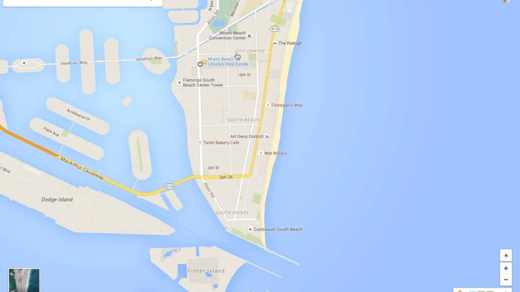 Miami Beach Neighborhood Tour & Google Maps Walkthru - Youtube - Google Maps Coral Gables Florida