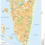 Miami Beach Street Map, Florida Stock Illustration   Illustration Of   Map Of South Beach Miami Florida