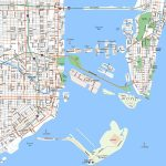 Miami, Downtown   Aaccessmaps   Miami Florida Cruise Port Map