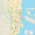 Miami Downtown Map   Street Map Of Downtown Miami Florida