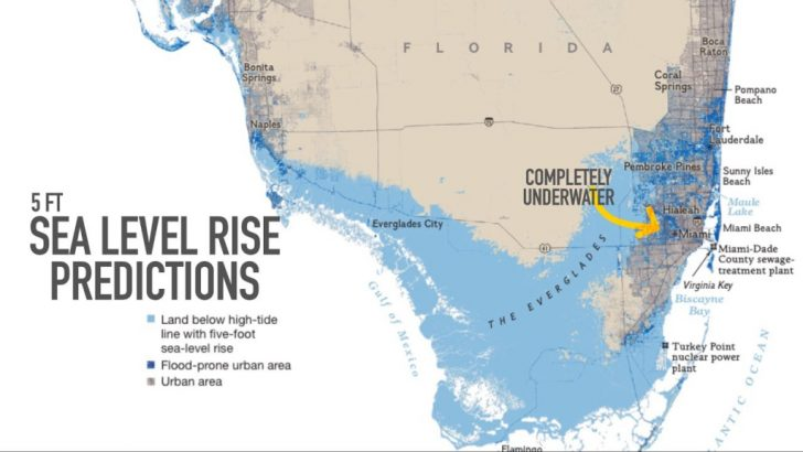 Florida Underwater Map
