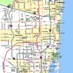 Miami Metropolitan Area Highways   Aaccessmaps   Highway Map Of South Florida