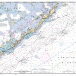 Miami To Marathon And Florida Bay Page E Nautical Chart – Νοαα – Florida Keys Marine Map