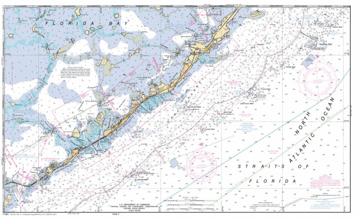 Florida Keys Marine Map