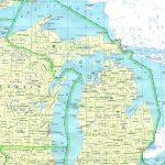 Michigan Printable Map   Printable Map Of Upper Peninsula Michigan