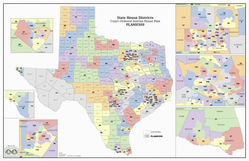 Michigan Senate Districts Map Texas Us Senate District Map New State - Texas State District Map