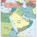 Middle East Maps   Perry Castañeda Map Collection   Ut Library Online   Printable Map Of Middle East