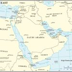 Middle East Region Map, World Map   Printable Map Of Middle East