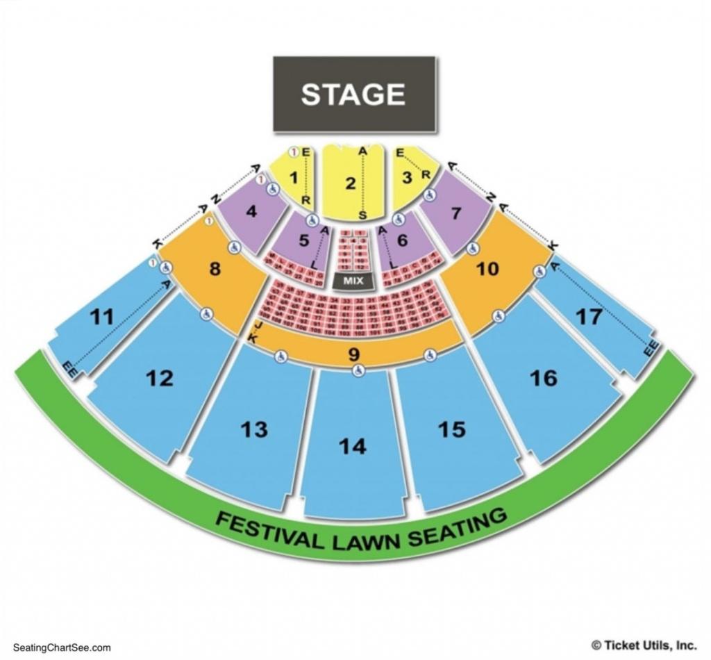 Midflorida Credit Union Amphitheatre Seating Chart   Seating Charts - Mid Florida Credit Union Amphitheater Parking Map