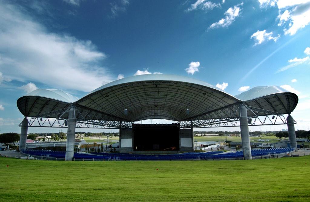 Midflorida Credit Union Amphitheatre, Tampa Fl | Seating Chart View - Mid Florida Amphitheater Parking Map