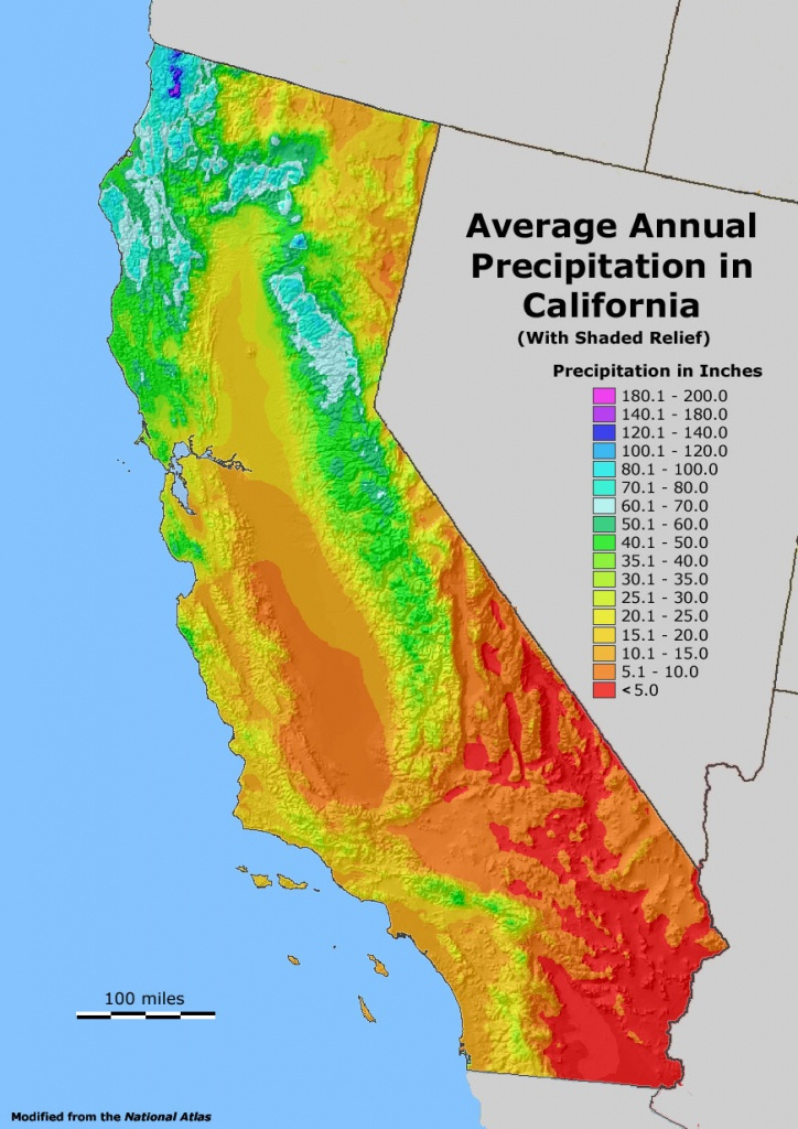 Mike's Epic Road Trips - 2007 ~ California ~ - California Water Rights Map