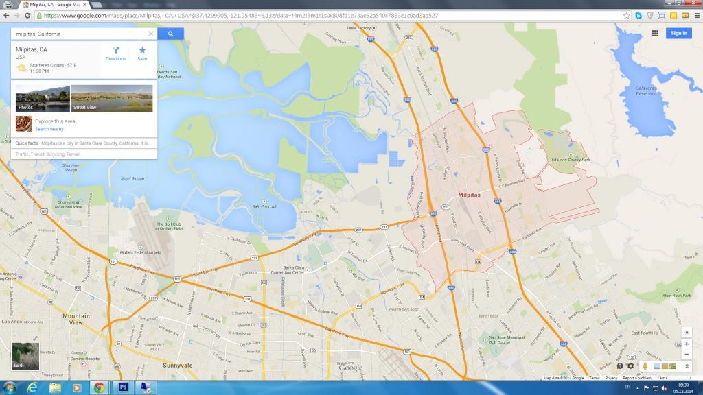 Milpitas California Map - Milpitas California Map