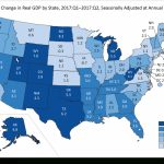 Minnesota's Economy Grew More Slowly Than 43 Other States In The   Us Quarter Map Printable