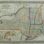 Mitchell New York And New England 1863   Philadelphia Print Shop   Printable Map Of New England States