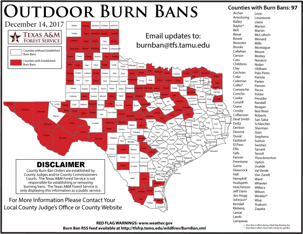 More Than One-Third Of Texas Counties Are Under Burn Ban In Fear Of - Texas Burn Ban Map