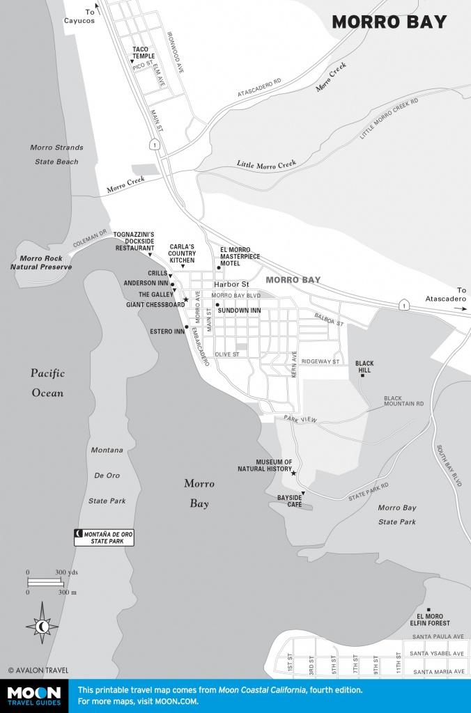 Morro Bay And San Luis Obispo On The Pch | Road Trip Usa - Morro Bay California Map