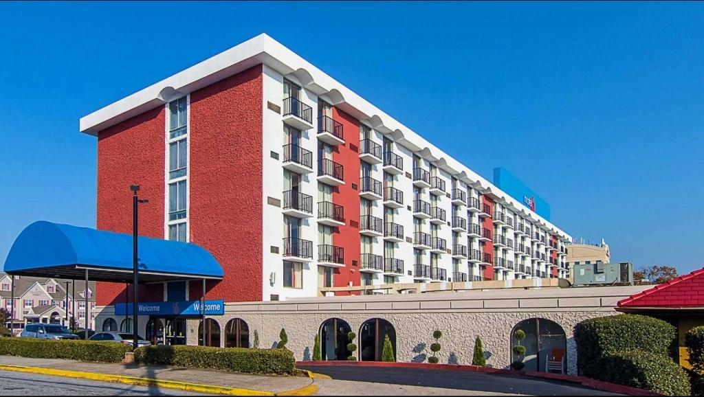 Motel 6 Atlanta Airport - Virginia Ave Hotel In Atlanta Ga ($76+ - Motel 6 Locations California Map