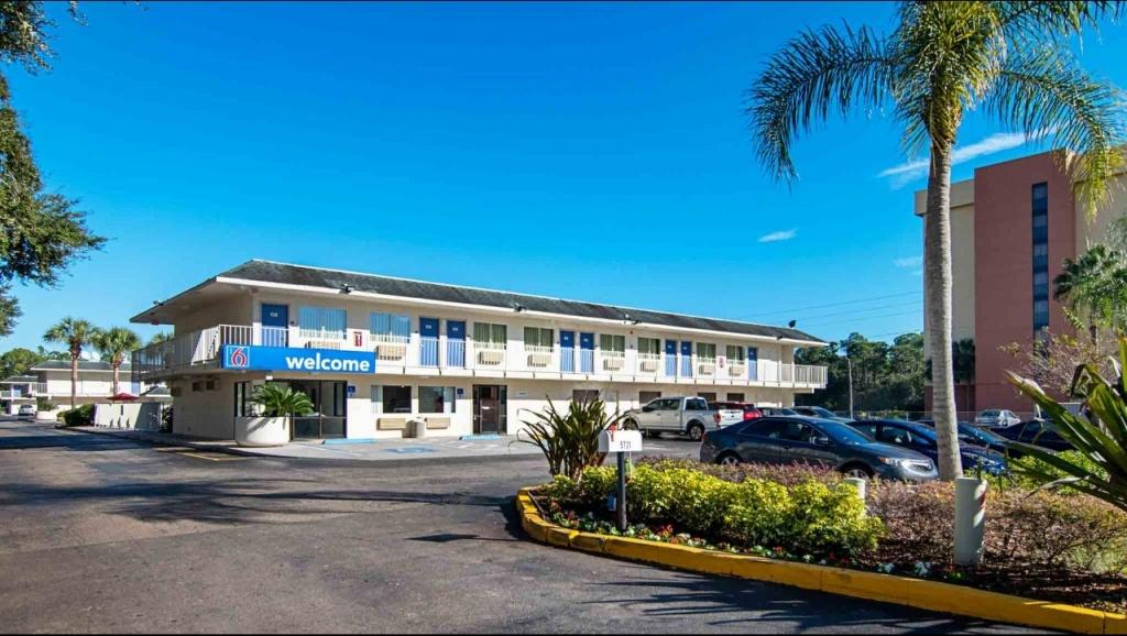 Motel 6 Orlando - Kissimmee Main Gate East Hotel In Kissimmee Fl - Motel 6 Florida Map
