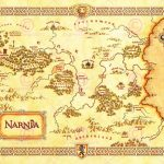 Movie Film Map Narnia Lewis Classic Sci Fi Poster Print Lv10152   Printable Map Of Narnia