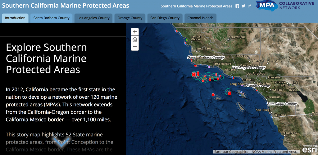 Mpa Online Interactive Map | Mpa Collaborative Network - California Marine Protected Areas Map