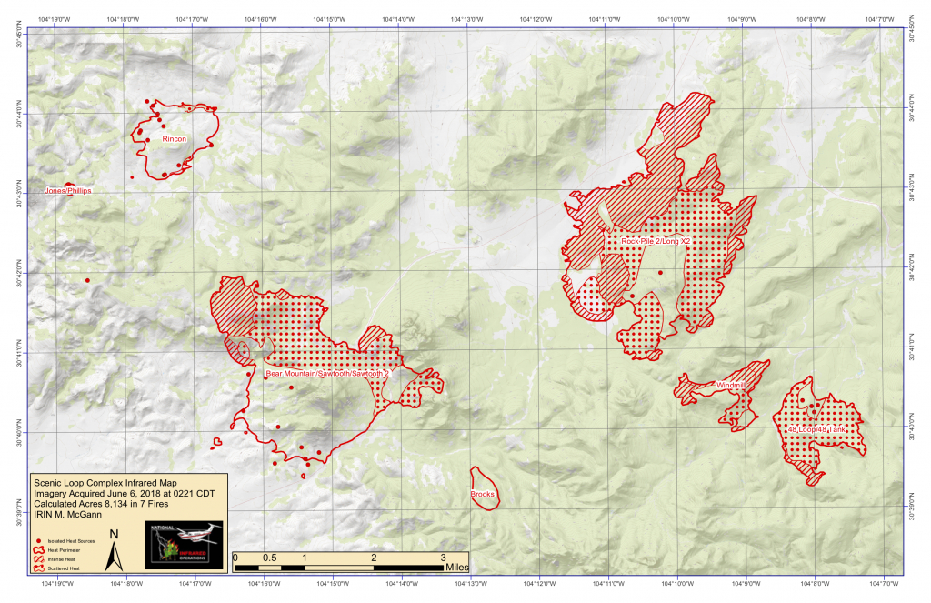 Multiple Fires Continue To Burn Through Davis Mountains Area | Krts - Texas Fire Map