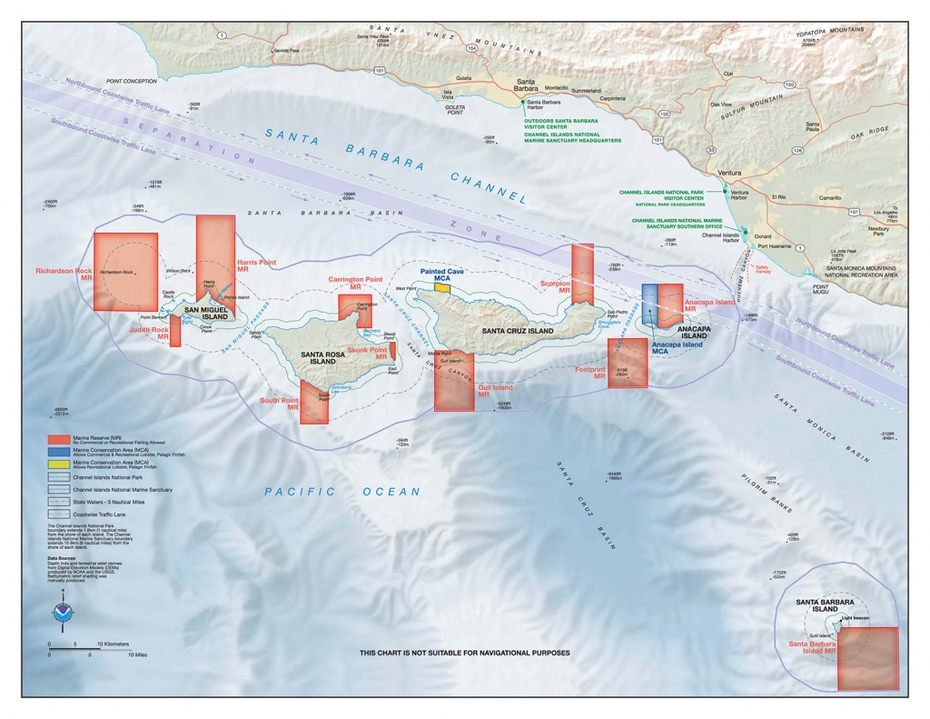 My Favorite Santa Cruz Island Halibut Spot | Otto Gasser - Southern California Fishing Spots Map
