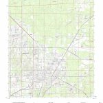 Mytopo Gainesville East, Florida Usgs Quad Topo Map - Where Is Gainesville Florida On The Map