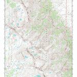 Mytopo Mount Williamson, California Usgs Quad Topo Map   Usgs Topo Maps California