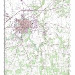 Mytopo Seguin, Texas Usgs Quad Topo Map - Seguin Texas Map