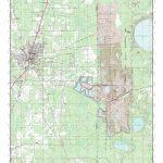 Mytopo Starke, Florida Usgs Quad Topo Map   Starke Florida Map
