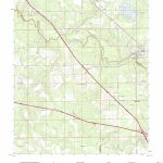 Mytopo White Springs West, Florida Usgs Quad Topo Map   White Springs Florida Map