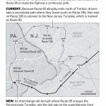 N.j., Pennsylvania Officials Plan To Close Longtime Gap On Route 95   Map Of I 95 From Nj To Florida