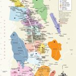 Napa Valley Wineries Map | An Adventure, A Journey, A Destination   Napa Valley California Map