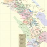 Napa Valley Wineries | Wine Tastings, Tours & Winery Map - California Wine Trail Map
