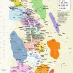 Napa Valley Winery Map A For Silverado California - Picturetomorrow - Printable Napa Winery Map