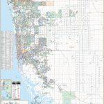 Naples & Collier Co, Fl Wall Map – Kappa Map Group - Map Of Bonita Springs And Naples Florida