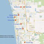 Naples Golf Communities Map   Naples Florida Beaches Map