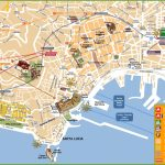 Naples Tourist Attractions Map | Naples | Naples Map, Italy Map Et   Printable Street Map Of Sorrento Italy